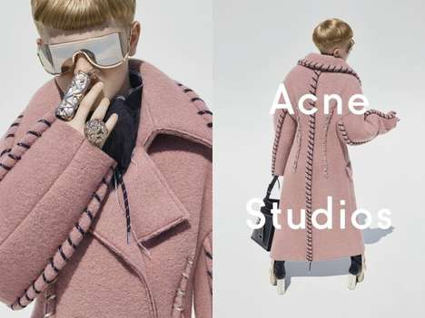 Gender-Blurring Fashion Ads - Acne Casts Its Art Director's Pre-Teen Son in This Womenswear Campaign