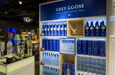 Vodka Concept Stores - This Grey Goose Boutique is a Luxury Liquor Pop-Up