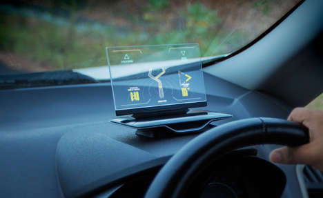 Intuitive GPS Displays - Exploride Transforms Your Car into a Smart, Connected Vehicle