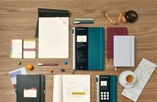 Productivity-Enhancing Stationery Collections - This Line of Moleskine Products is for Professionals