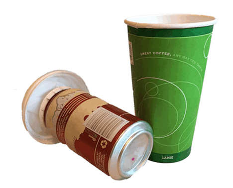 Beer-Concealing Cups - Lolo Lids Makes Drinking Beer Out of a Coffee Cup a Covert Affair