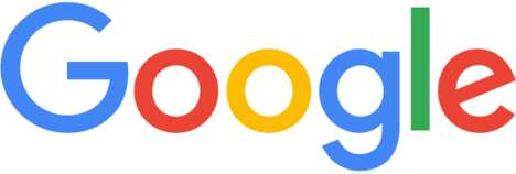 Search Engine Rebrandings - The New Google Logo Adopts Sculpted Letters and a Flatter Finish