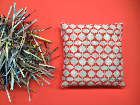 Recycled Catalogue Pillows - The Newest IKEA Pillow Features Recycled Paper Filling