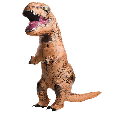 Ferocious Dinosaur Costumes - The Jurassic World Inflatable T-Rex Costume is Sure to Get Looks