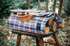 Luxury Log-Lugging Bags
