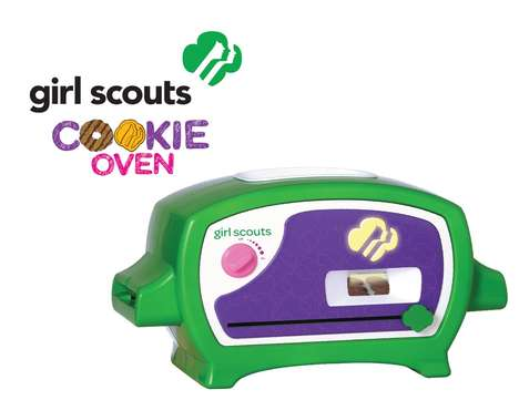 Camper Cookie Ovens - The Girl Scouts Cookie Baker Lets Children Make the Popular Treats at Home