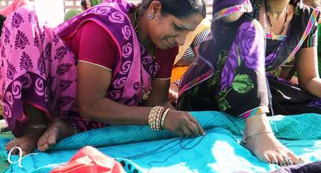 Slavery-Fighting Clothing Lines - This Company Empowers Indian Women Through Textile Careers