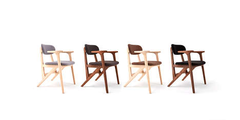 Dancer-Inspired Furniture - The 'Ballerina Chair' is Inspired by the Grace of Movement