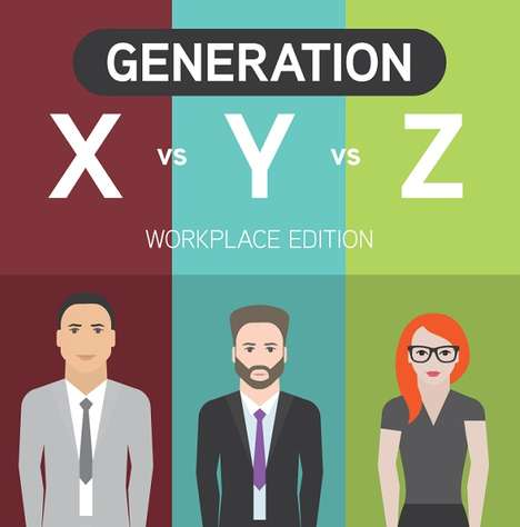 Generational Workplace Guides - This Generation Infographic Looks at Differences Between Age Groups