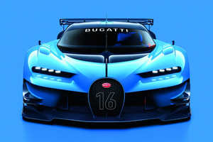 The Bugatti Vision Gran Turismo is a Real Version of a Virtual Race Car