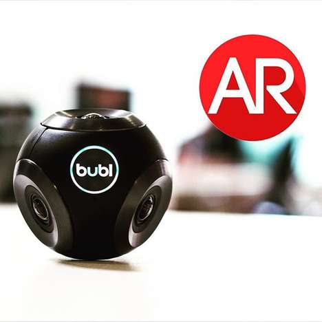 Spherical Video Cameras - This 360-Degree Camera Helps Users Capture Spherical Panoramas