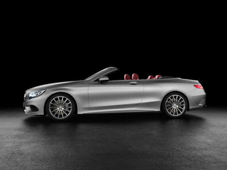 Luxury Flagship Convertibles - The Mercedes S-Class Coupe Boasts Speed with a 7-Speed Transmission