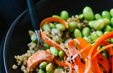 Vegetarian Sushi Bowls - This Recipe Deconstructs a Sushi Roll and Turns it Into a Medley