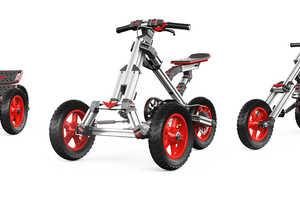 The 'Infento' is the First Convertible Bike That Transforms into 18 Rides