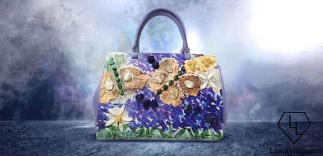 Artistic Limited-Edition Handbags - This Exclusive Mrs. Gucci Bag is a Luxurious Masterpiece