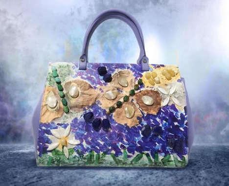 Artistic Limited-Edition Handbags