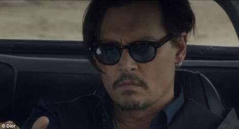 Mysterious Celebrity Advertisements - This Johnny Depp Dior Commercial Features Ambiguous Mystery