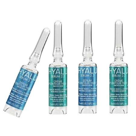 Scientific Skincare Vials - Hyalu's Skincare Packaging Resembles High-Tech Tools from a Laboratory