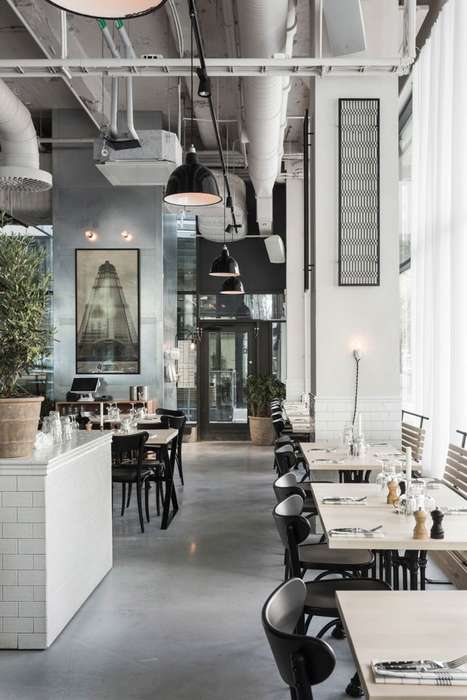 Remodeled Factory Restaurants - This Eatery and Meeting Space Used to Exclusively Produce Sausages