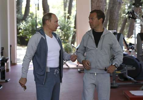 Relaxed Politician Editorials - These Images of Vladimir Putin Features Him in a $3,000 Track Suit