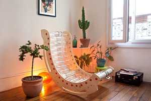 This Piece of Furniture is Made from 36 Recycled Plastic Bottles