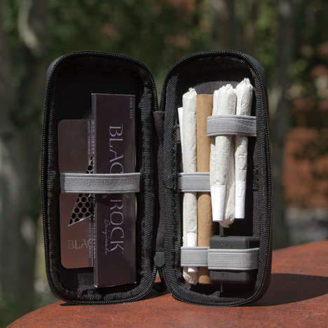 Cannabis Travel Cases - The Safety Case by Black Rock Originals Has a Smell-Proof Construction