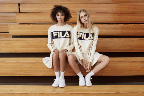 Hipster Athletic Apparel - This Fila Women + UO Collection is an Indie Take on Sporty Chic
