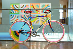 These Bike Installations Resemble Famous Works of Art at the MIA