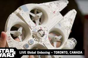 This High-Tech Star Wars Toy is Essentially a Millennium Falcon Drone