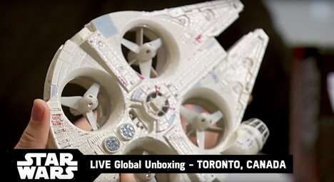 Sci-Fi Fantasy Drones - This High-Tech Star Wars Toy is Essentially a Millennium Falcon Drone