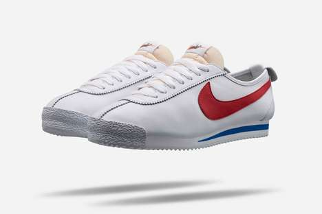 Sleek Retro Sneakers - The Nike Cortez '72 Revives a Popular Minimalistic Shoe for Today's Audience