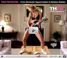 Faux Rockstar - Guitar Hero 3, Rock Band 2, Rockstar Supermodels, and Badass Babies
