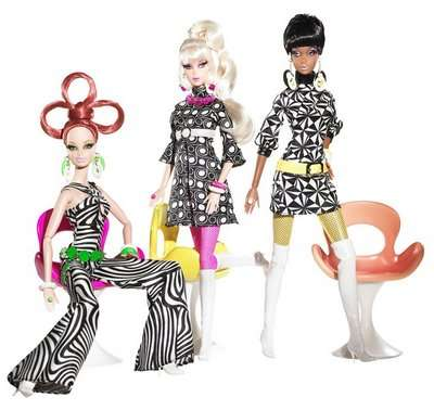 Psychedelic Barbie Dolls