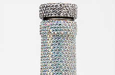 $2,500 Water Bottles - Swarovski Vessel Features 10,000 Crystals