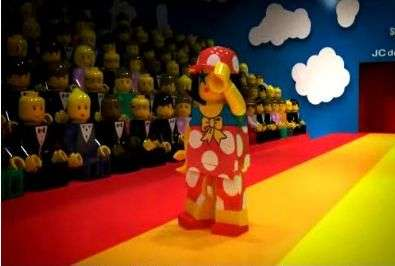 LEGO Fashion Shows