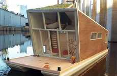 Sustainable Houseboats - The 'Schwimmhaus'