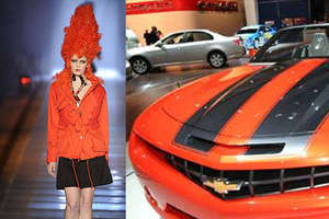 Orange is Hot Color for Fashion and Cars