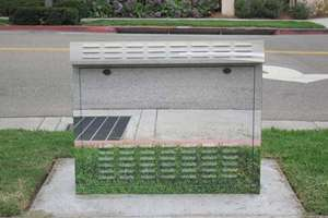 Los Angeles' Disguised Utility Boxes