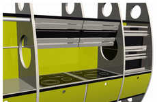 Airplane-Inspired Home Decor - The 'Flight Kitchen'
