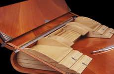 Rolltop Desk Reinventions - The Tresserra Carpett Secreter