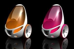 Peugeot 2-Wheeled Concept Car