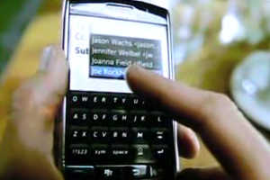 First Blackberry Storm Commericals Launched