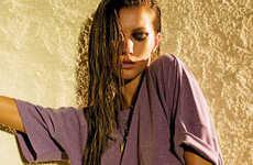 80s Rocker Chic - Gisele Sizzles in Elle Magazine