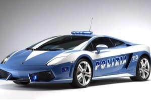 Italy's Polizia Get 560 HP Lamborghini