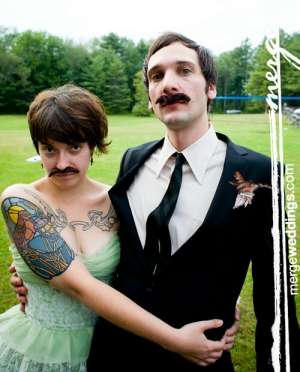 His and Hers Facial Hair