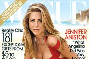 Jennifer Aniston Covers December Vogue