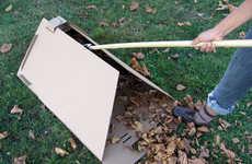 DIY Cardboard Garden Tools