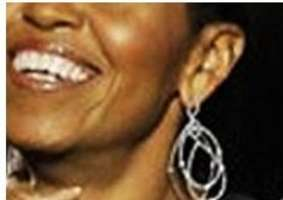 Michelle Obama's $11,000 Election Night Bling