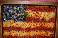 Patriotic Pizza - Bizarre Stars & Stripes Tributes