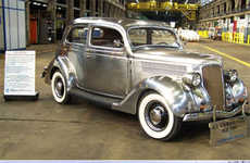Stainless Steel Cars - Retro Automotive PR